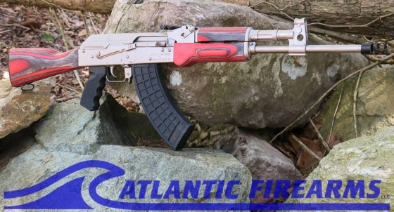 AK47 RIFLE M10-NICKEL FINISH
