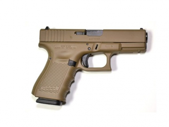 Glock 19 Gen 4 9 mm 4 in FDE